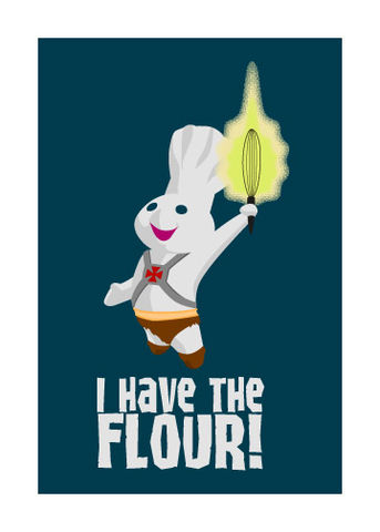 Doughman,Blank,Card,funny,art,card,he-man,doughboy,mash-up