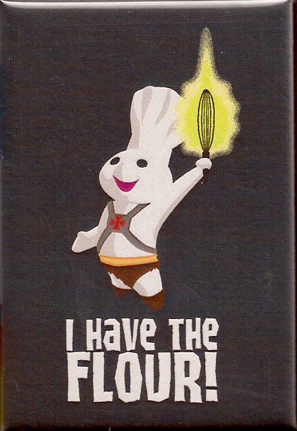 I Have The Flour 2x3 Magnet - product images  of