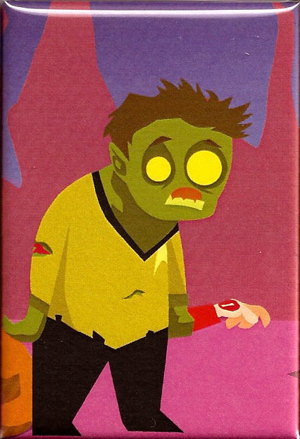 Zombie Kirk 2x3 Magnet - product images  of