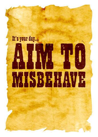 Aim,to,Misbehave,Geeky,Greeting,Card,geek,Nerd,greeting card,serenity,firefly,Browncoat
