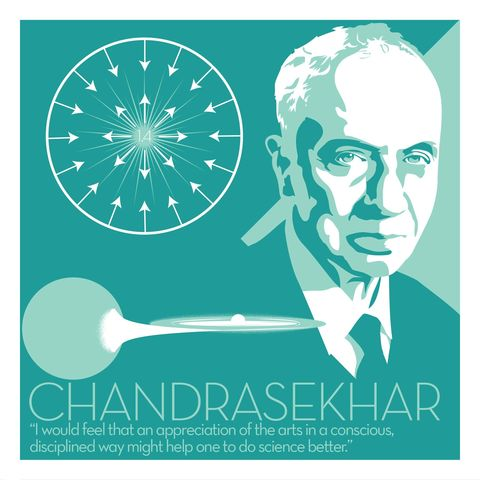 Subrahmanyan,Chandrasekhar,-,Eureka,Giclee,print,giclee, print, science, chandrasekhar, Subrahmanyan Chandrasekhar, space, black holes, vector art