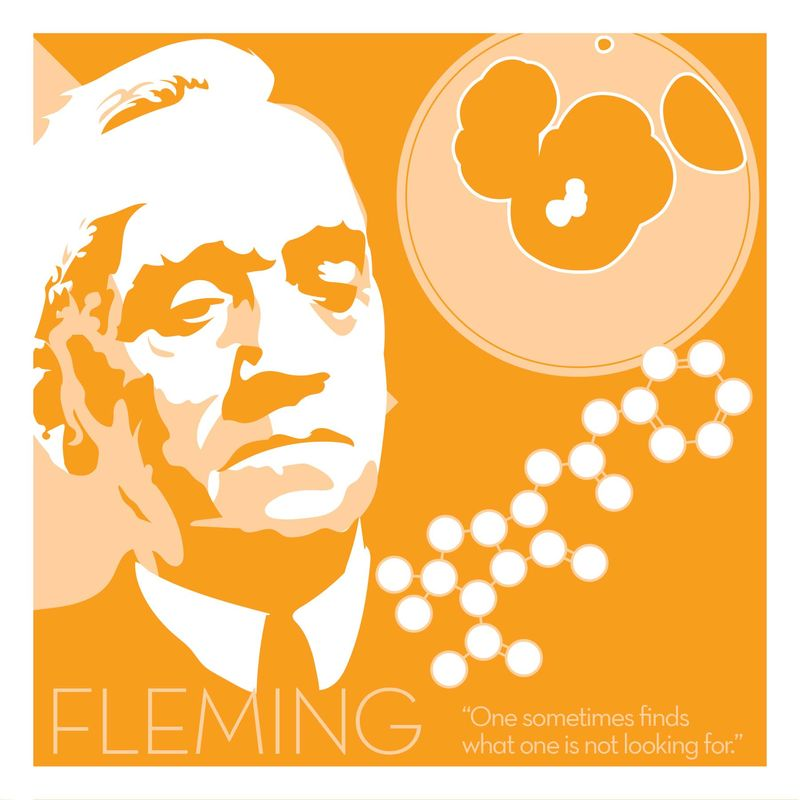 Alexander Fleming - Eureka Giclee print - product images