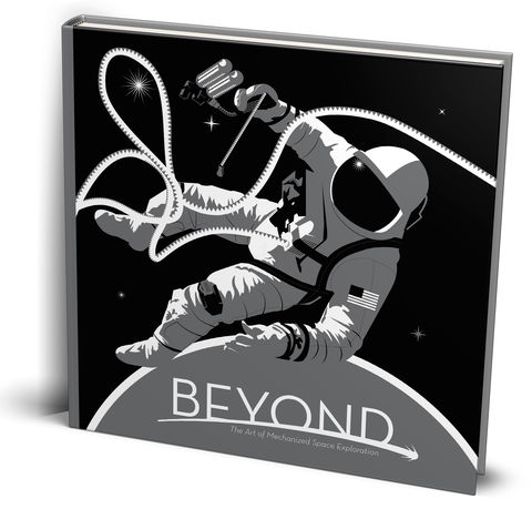 BEYOND:,The,Art,of,Space,Exploration,Artbook,beyond,science,art,Book,scientist,graphic,vector,Design,space,space art, sciart, scicomm, nasa, jpl