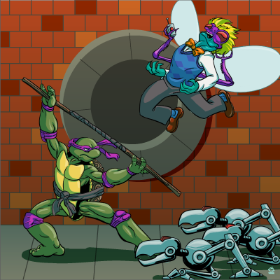 Donatello,TMNT,8X8,Art,Print,poster,digital print,donatello, teenage mutant ninja turtles, tmnt, ninja turtles, donnie, mousers