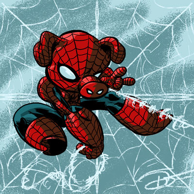 Spider-Ham,8X8,Art,Print,poster,digital print, spiderham, peter porker, marvel, pig, spiderpig, into the spider verse, spiderverse