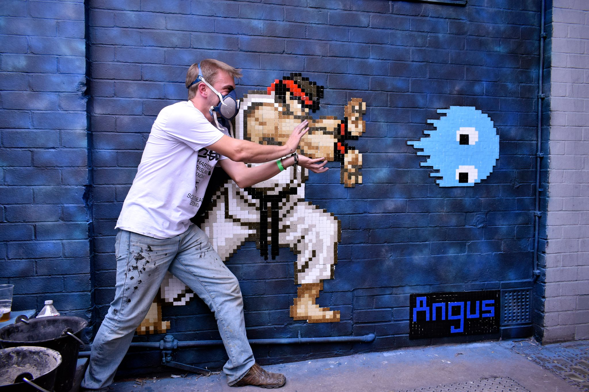 Bristol's own cheeky chappy Angus - on his year and Upfest