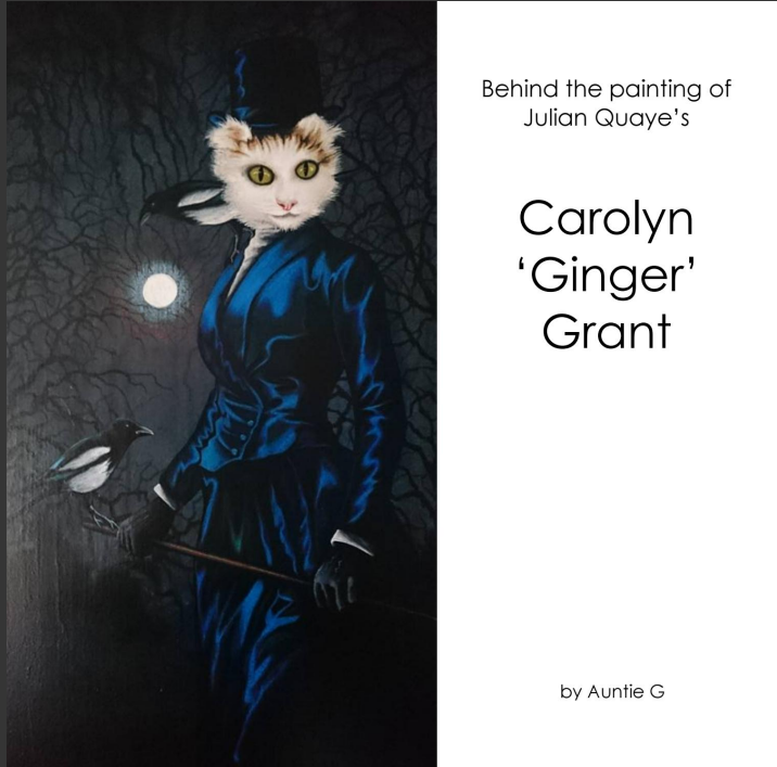 Behind the painting - Carolyn Ginger Grant