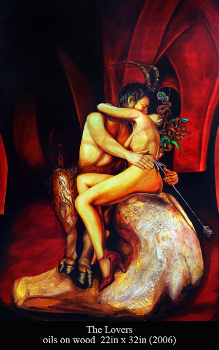 The Lovers by Neil Roberts at The Kane Gallery