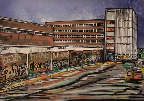 Carriageworks,by,John,Curtis,Canvas print