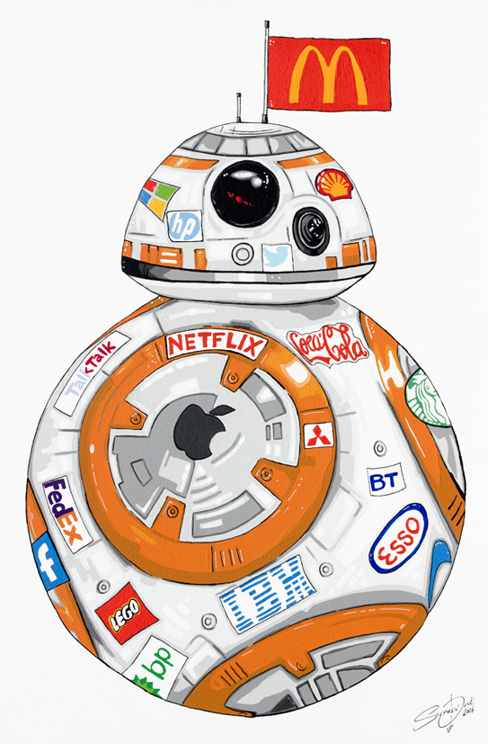 BB-8 (As sponsored by)  by Stephen Quick