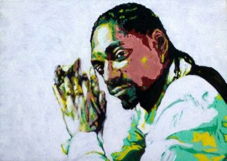 Snoop,-,signed,limited,edition,print,by,Ron,Limited edition print, Ron, Snoop Dog