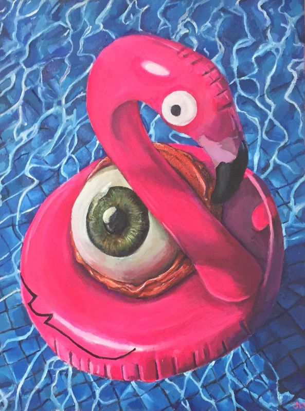 SOLD Eye is Sunburn limited edition print by Jimmer Willmott - product images
