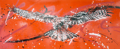 Owl,No.2,by,Nick,Harvey,(Giclee,print),Nick Harvey, Owl, Giclee print