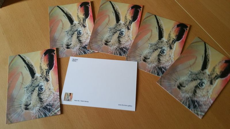 Hare No.1 by Nick Harvey (Post card) - product images