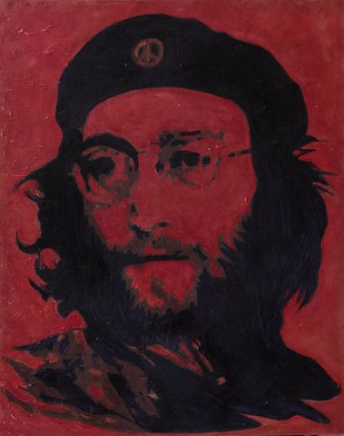 Lennon,After,Che,-,signed,limited,edition,print,by,Ron,Limited edition print, Ron, Beatles, musicians, Lennon, John Lennon