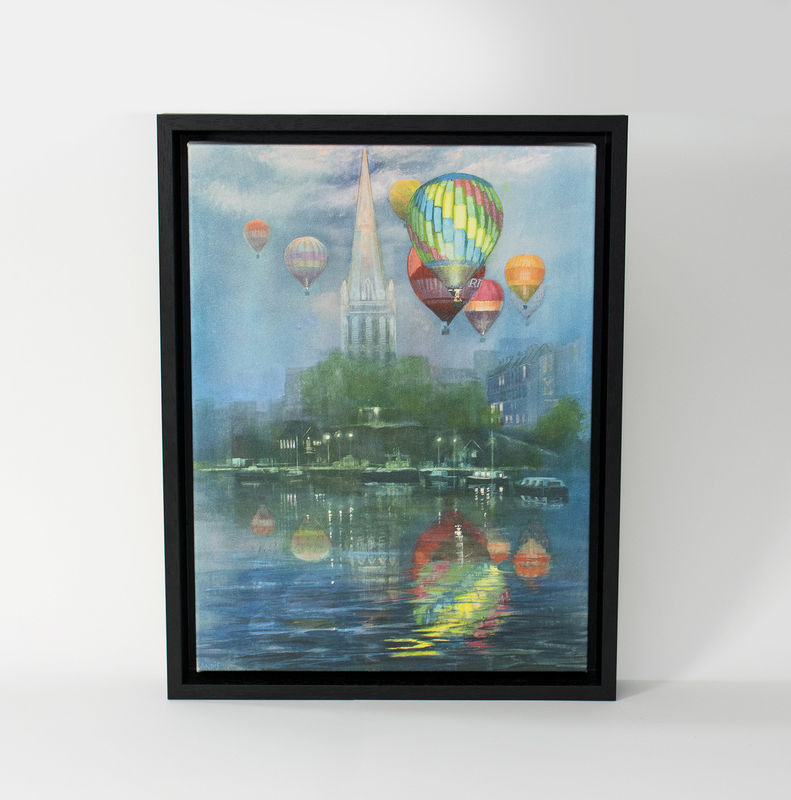 Balloons with Cathedral  by Andrew Burns Colwill - product images  of