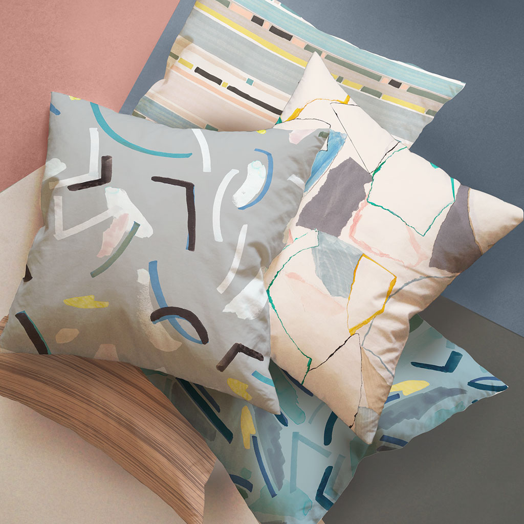 Jericho Design House Fresh Collection Cushions Fabrics Prints Textiles