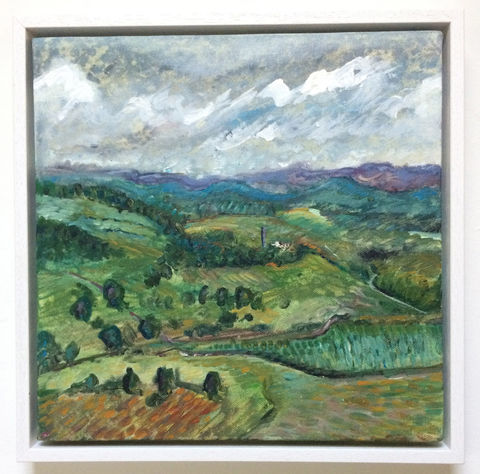 SOLD,painting, canvas, acrylic, framed, landscape, dales