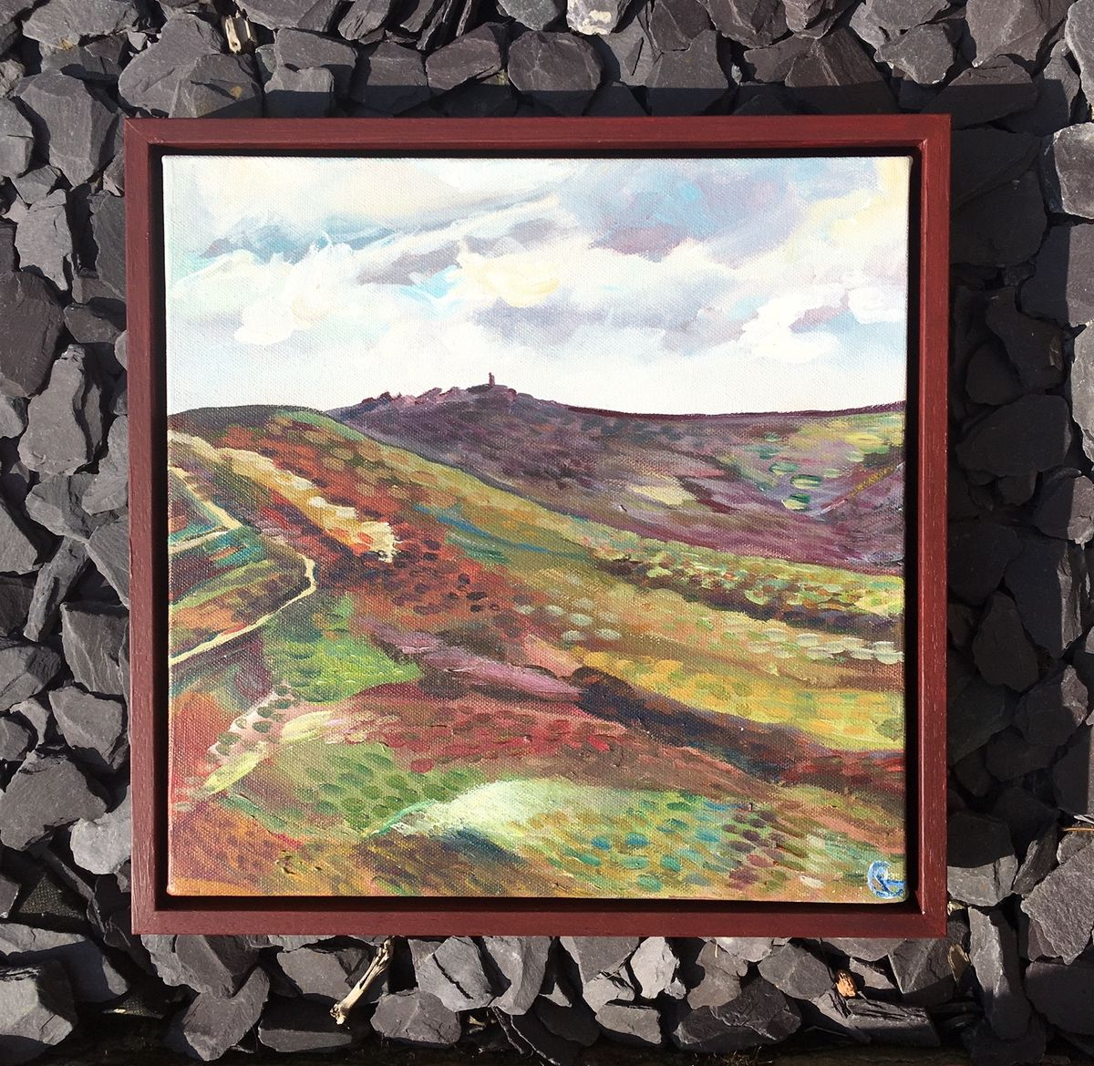 Early summer on the Moor by Rebecca Carr Artist £25 of sale goes to the Red Cross - product images  of