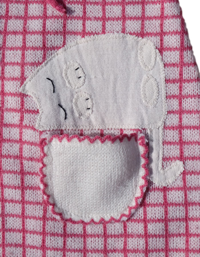 """SLEEPY CAT"" KNITTED DRESS/TOP - 6-18M - product images  of"