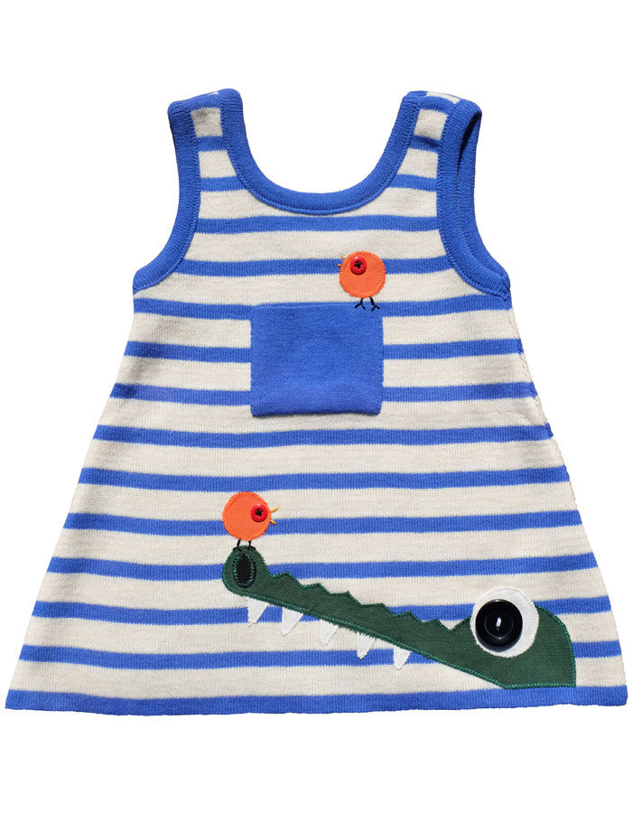 """CROCODILLY"" KNITTED DRESS/TOP – 12-18M - product images  of"