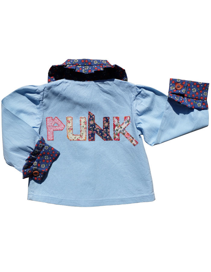 """PUNK"" LIBERTY SHIRT – 6-12M - product images  of"