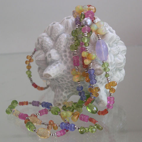Pastel,Gemstone,Sterling,Silver,Beaded,Necklace,,Skinny,Jewels,,Wraparound,Bracelet,with,Tanzanite,,Sapphire,,Garnet,,Opal,,Peridot,,32,Jewelry,Necklace,Pastel_Gemstone,Gemstone_Necklace,Skinny_Jewels,Opal_Bracelet,Layered_Bracelet,Peridot_Necklace,Tanzanite_Necklace,Sapphires_Necklace,Original_Design,Sterling_Necklace,Beaded_Necklace,32,Bellajewels,opal,tanzanite,sapphire,peridot,vesuvia
