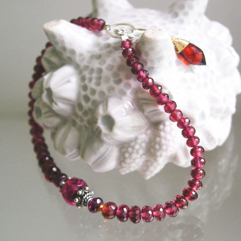 Red,Garnet,Beaded,Bracelet,,Pink,Tourmaline,and,Mixed,Metal,Layering,Bracelet,Jewelry,Pink_Tourmaline,Mixed_Metal,Original_Design,Signature_bracelet,Garnet_Bracelet,Beaded_Bracelet,Red_Raspberry,Layering_Bracelet,tourmaline_bracelet,bellajewels,raspberry_bracelet,handmade_in_usa,artist_made