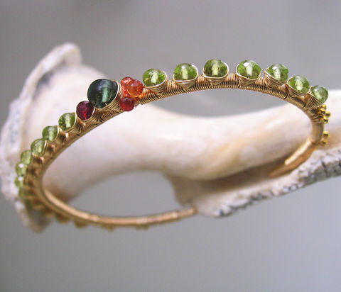 Rainbow,Gemstone,14k,Gold,Filled,Cuff,,Stackable,Wire,Wrapped,Bracelet,with,Sapphire,,Garnet,,Spinel,,Tourmaline,,Ruby,,Peridot,Jewelry,Original_Design,Peridot_Gold,Filled_Cuff,Peridot_Cuff,Sapphire_Cuff,Stackable_Gemstone,Gemstone_Cuff,Stackable_Cuff,Wire_Wrapped_Cuff,Bellajewels,Peridot_Bracelet,Peridot_Gold_Cuff,14k gold filled wire,gemstones,peridot,apatite,r