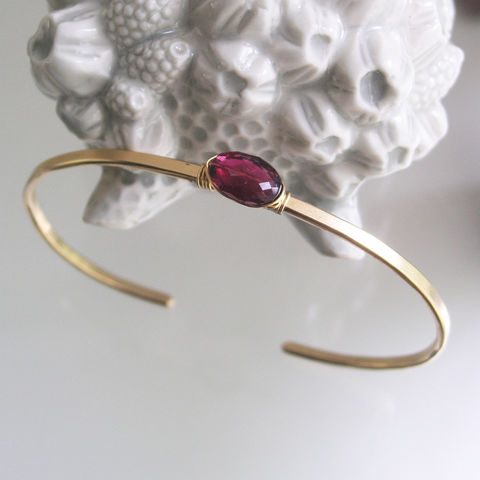 Rubellite,Pink,Tourmaline,Minimalist,and,Modern,Cuff,Bracelet,in,14k,Gold,Fill,Jewelry,Gold_Filled_Bracelet,Single_Stone,Minimalist_Jewelry,Stackable_Cuff,Magenta_Gem,Original_Design,Rubellite_Pink,Tourmaline_Cuff,Rubellite_Gold_Cuff,Bellajewels,Modern_Design,Bella_Jewels,Pink_Tourmaline_Cuff,14k gold filled wire,rubellite