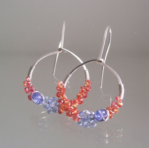 Blue,and,Orange,Sapphire,Sterling,Silver,Hoops,,Tanzanite,Wire,Wrapped,Earrings,,Lightweight,,Everyday,Jewelry,,Original,Design,,Signature,Jewelry,Earrings,Blue_and_Orange,Sapphire_Sterling,Silver_Hoops,Tanzanite_Earrings,Lightweight_Earrings,Everyday_Jewelry,Original_Design,Signature_Hoops,Wire_Wrapped,Wrapped_Earrings,Bellajewels,Sapphire_Hoops,Blue_Orange_Hoops,argentium sterling silver,o