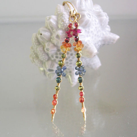14k,Solid,Gold,Multi,Sapphire,Linear,Earrings,,Long,Stems,with,Tourmaline,,Vesuvianite,,Apatite,Jewelry,Earrings,14k_Solid_Gold,Sapphire_Earrings,Rainbow_Dangles,Tourmaline_Dangles,Bellajewels,Sapphire_Linear_Stem,Sapphire_Gem_Dangles,Multi_Sapphire,Linear_Earrings,Long_Stems,Tourmaline_Earrings,Vesuvianite_Earrings,Apatite_Gold_Stems,14k solid gold