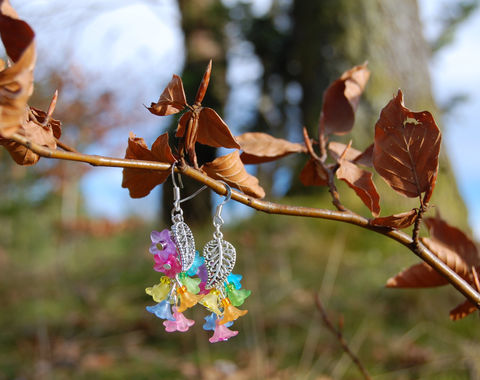 Rainbow,flower,earrings,-,pastel,goth,fairy,kei,jewelry,cascasde,multicolor,dangle,Jewelry,Earrings,kawaii,rainbow_earrings,rainbow_flower_earrings,rainbow_jewelry,rainbow_fairy,sweet_lolita_earrings,pastel_goth_jewelry,lgbt_earrings,multicolor_earrings,rainbow_dangle_earrings,kawaii_flower_earrings
