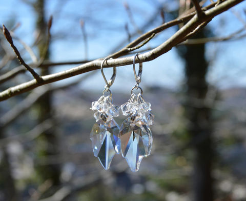 Swarovski,crystal,leaf,earrings,-,elf,jewelry,Ice,Queen,fairy,bridal,Jewelry,Earrings,leaf_earrings,ice_crystal_jewelry,elf_jewelry,witch_jewelry,crystal_earrings,elven_jewelry,forest_fairy,crystal_leaf_earrings,moonlight_crystal_earrings,elven_earrings,witch_earrings,white_crystal_earrings,witchy_jewelry,forest_witch_jewe