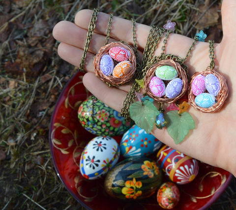 Easter,egg,necklace,-,wire,wrapped,birds,nest,pendant,Polish,pisanki,easter,ostara,eostre,cute,spring,jewelry,Jewelry,Necklace,easter_egg_necklace,bird_nest_necklace,easter_jewelry,easter_necklace,birds_nest_pendant,bird_nest_pendant,egg_pendant,egg_necklace,easter_egg_pendant,bird_nest,easter_pendant,wire_wrap_pendant,,pagan_jewelry