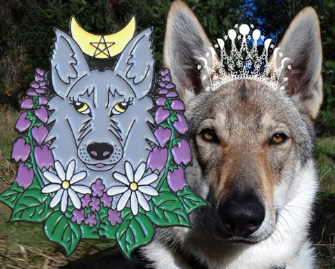 Cute,wolf,enamel,pin,-,witchy,pins,German,Shepherd,wolfdog,jewelry,kawaii,floral,badge,enamel_pin,wolf_pin,wolf_enamel_pin,witch_enamel_pin,witchy_pin,wicca_pin,dog_enamel_pin,wolfdog_jewelry,she_wolf_jewelry,wolf_badge,wolf_brooch,pastel_goth_pin,pastel_goth_enamel_pin,flower_enamel_pin,floral_enamel_pin,german_shepherd_jewelry,wolf_and_mo