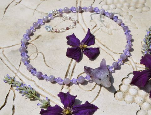 Pale,Amethyst,and,Swarovski,crystal,wolf,necklace,-,lilac,purple,choker,pastel,goth,wicca,witch,jewelry,amethyst_necklace,amethyst_choker,amethyst_wolf,purple_crystal_necklace,crystal_witch_necklace,lilac_necklace,witchy_choker,violet_crystal_necklace,witchy_crystal_necklace,wiccan_crystal_necklace,february_birthstone_jewelry,witchy_crystals