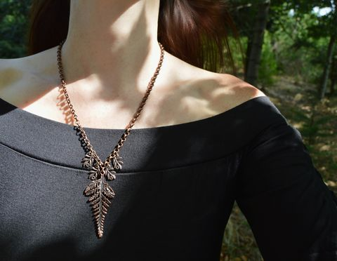 Fern,leaf,necklace,-,Bracken,pendant,in,copper,botannical,plant,jewelry,forest,witch,mori,girl,leaf_necklace,leaf_pendant,fern_necklace,fern_pendant,fern_leaf_necklace,fern_jewelry,botannical_pendant,fern_leaf_pendant,elven_leaf_pendant,copper_leaf_necklace,copper_leaf_pendant,witchy_pendant,forest_witch_necklace,botannical_leaf_jewelry,elf_pendant