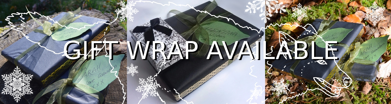 Gift wrapping on orders at Herisson Rose Jewelry