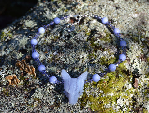 Blue,Lace,Agate,wolf,necklace,with,purple,lavender,Swarovski,crystals,-,wiccan,jewelry,Fairy,Queen,blue_lace_agate_necklace,crystal_wolf_necklace,sweet_witch_jewelry,lilac_necklace,lavender_necklace,lace_agate_necklace,lace_agate_choker,lace_agate_jewelry,fairy_necklace,pastel_witch_necklace,crystal_wicca_jewelry,wiccan_jewelry,pastel_witch_crystal_nec