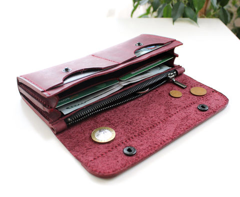 Large,leather,women's,wallet,purple,long leather women's wallets purple, leather women's wallets purple, leather women's wallets, large leather women's wallet, long women wallet, Free personalization, personalized gift