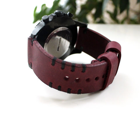 Leather,watch,strap,Purple,handmade leather watch band strap purple, leather watch band strap purple, watch band strap purple, leather watch strap purple