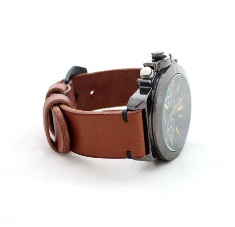 Leather,watch,strap,Tan,handmade tan watch strap, tan watch strap, watch strap, leather watch strap tan