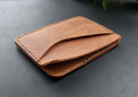 Leather,credit,card,wallet,brown,brown leather card wallet, leather card wallet, card wallet, leather credit card wallet, credit card wallet, leather credit card holder, Free personalization, personalized gift