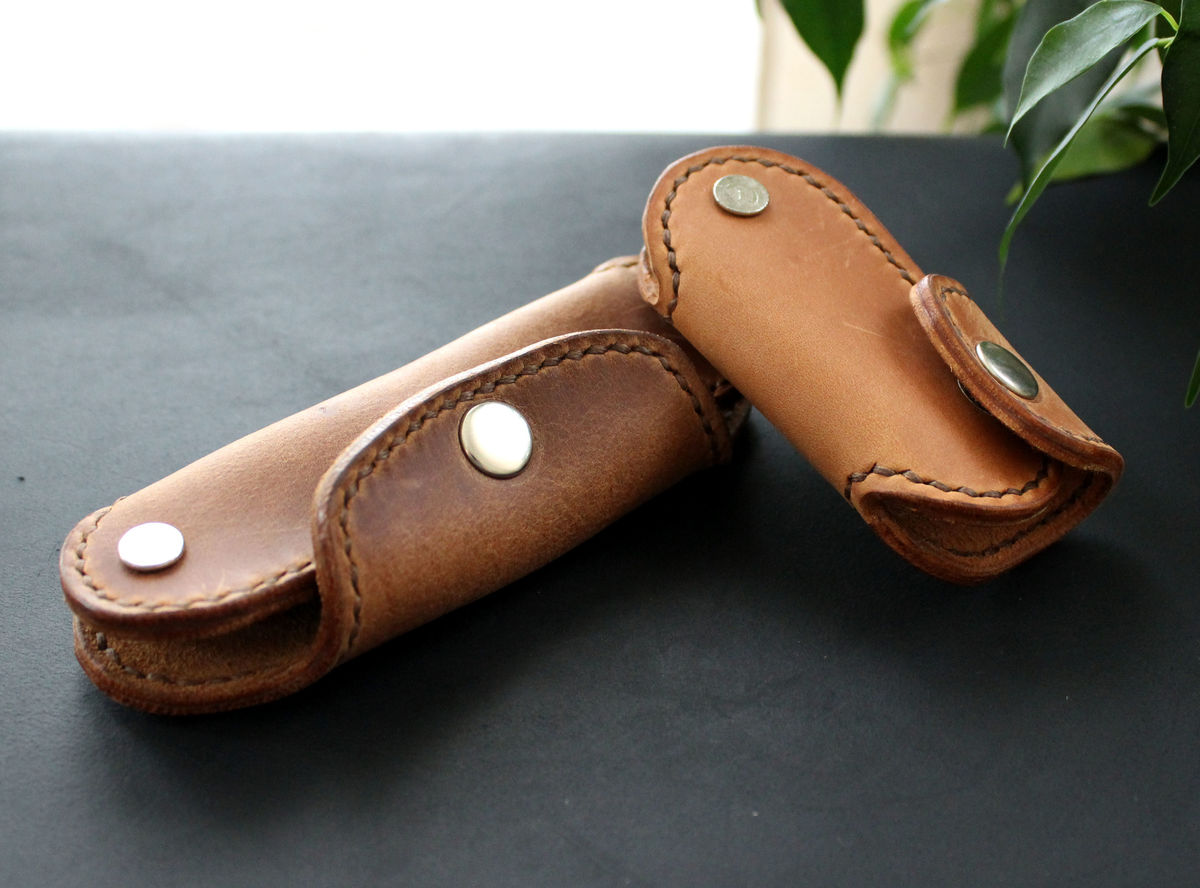 Leather men's key holder - product images  of