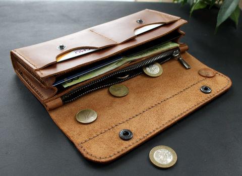 a6659956566 Small leather wallet ligth olive - Anger Refuge
