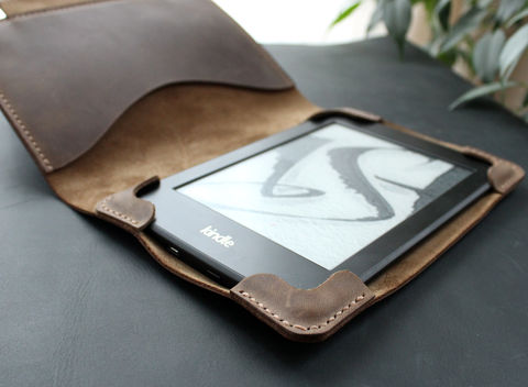 Kindle,Paperwhite,leather,case,Nut,Kindle cover, ebook cover, kindle leather case, kindle leather cover, kindle paperwhite, Smart Kindle case, magnet cover, paperwhite cover, leather cover, ereader case, paperwhite leather, paperwhite case, book cover, Free personalization, personalized gi