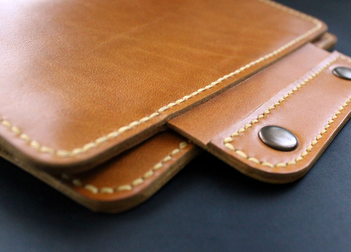 Kindle Paperwhite leather case Honey Yellow - product images  of
