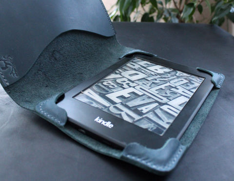 Kindle,Paperwhite,leather,case,Blue,Kindle cover, ebook cover, kindle leather case, kindle leather cover, kindle paperwhite, Smart Kindle case, magnet cover, paperwhite cover, leather cover, ereader case, paperwhite leather, paperwhite case, book cover, Free personalization, personalized gi