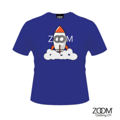 Zoom,Rocket,blue,T.,Shirt,Zoom Rocket T. Shirt, Rocket, Rocket T. Shirt